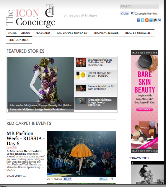 A view of The Icon Concierge