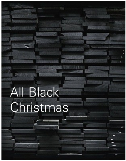 all black christmas