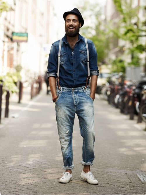 canadian tuxedo streetstyle 3
