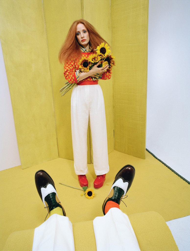 jessica-chastain-Wmag Tim walk 2015