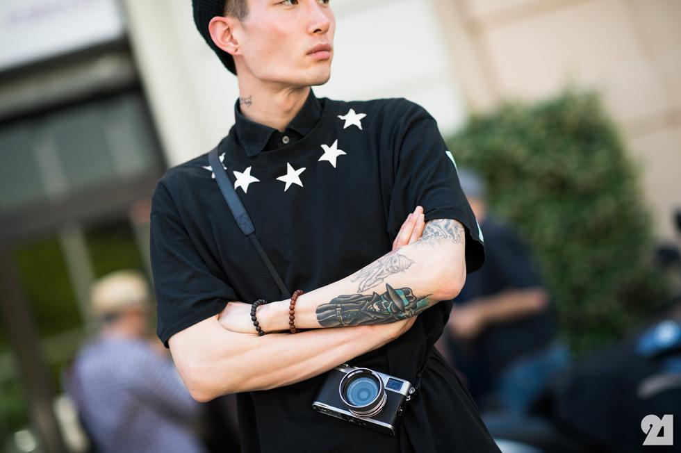 men style forearm beauty