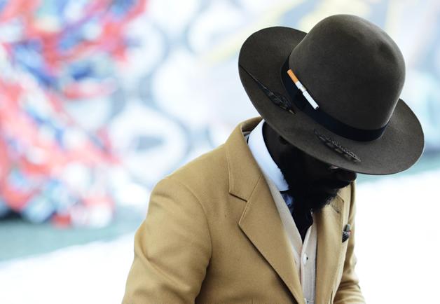 men style  hat