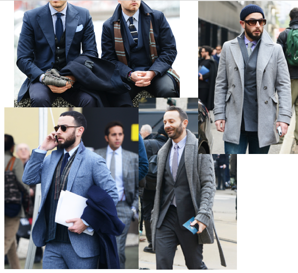 men style  head to toe one color