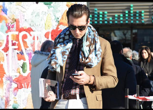 pitti uomo scarf 14