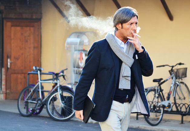 pitti uomo smoker