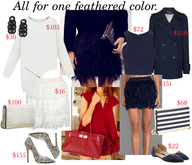 romeostyle feather styled looks 2