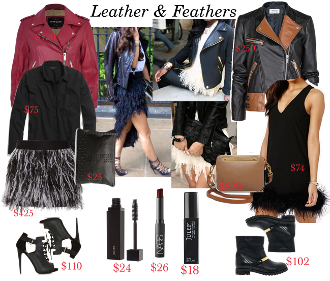 romeostyle feather styled looks 3