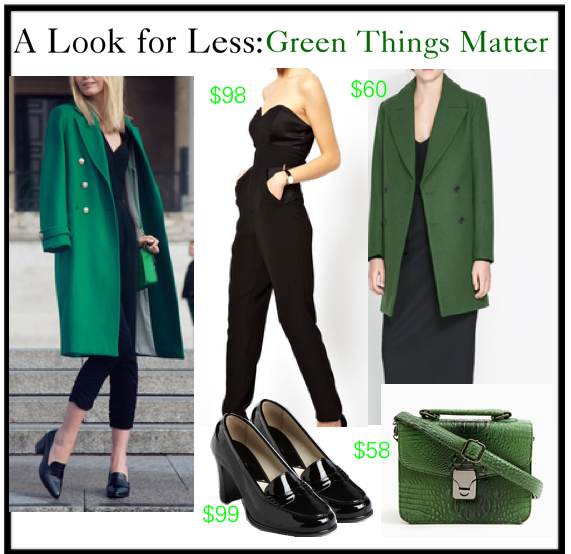 romeostyle look for less green things matter