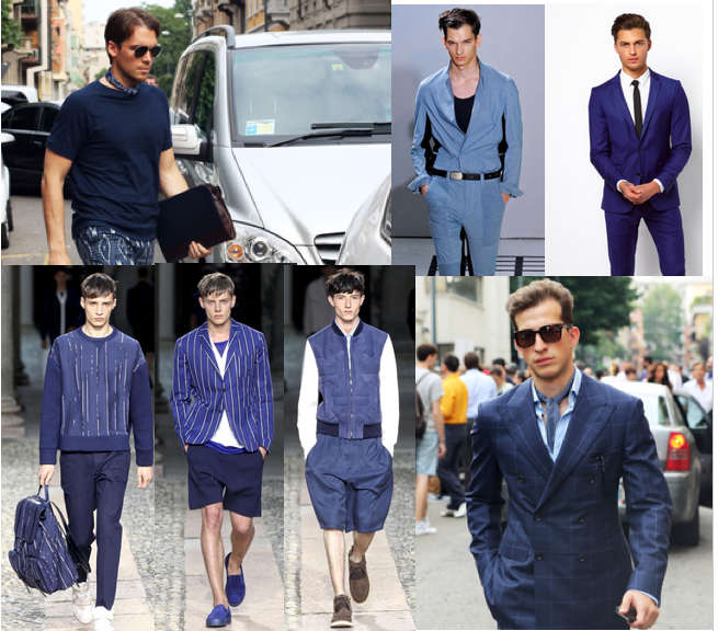 romeostyle men in blue