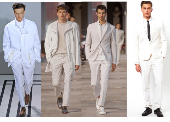 romeostyle men in white suits