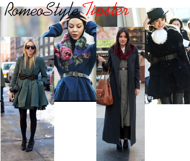romeostyle tipster belted outerwear