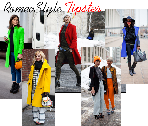 romeostyle tipster bright outerwear