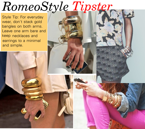 romeostyle tipster gold bangles_ 2