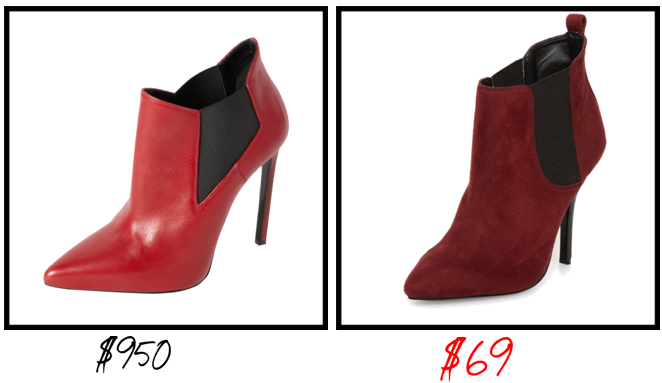 stealing or dealling booties fw13 2