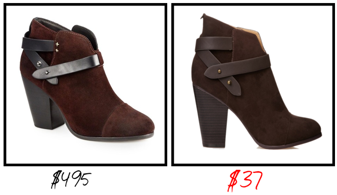 stealing or dealling booties fw13 8