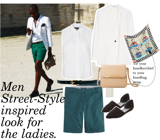 streetstyle men inspired for the ladies