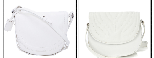 white crossbody bags